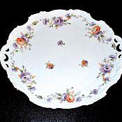 Винтаж handmade. Livemaster - original item Dish cake HERMANN OHME Germany 1890-1930 gg. Handmade.