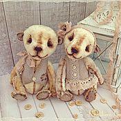 Куклы и игрушки ручной работы. Ярмарка Мастеров - ручная работа Мишки тедди Савушка и Сонечка  Скидка 20%. Handmade.