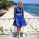 """Платья ручной работы. платье """" Гера"""". Jannetta knits  Luxury handmade. Интернет-магазин Ярмарка Мастеров. Однотонный"""