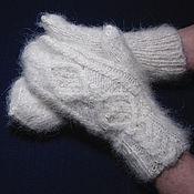 Аксессуары handmade. Livemaster - original item Women`s mittens `Japonic Butterflies`. Handmade.