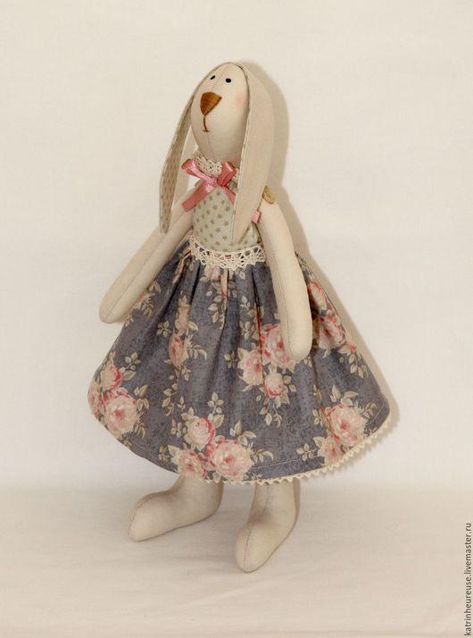 Куклы Тильды ручной работы. Ярмарка Мастеров - ручная работа. Купить Кролик тильда. Handmade. Комбинированный, пасхальный подарок