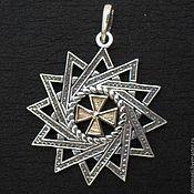Amulet handmade. Livemaster - original item Ertsgamma star with gold. Handmade.