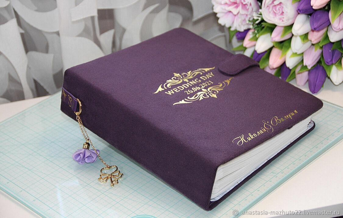 Именной свадебный фотоальбом, Фотоальбом свадебный, Сергиев Посад,  Фото №1