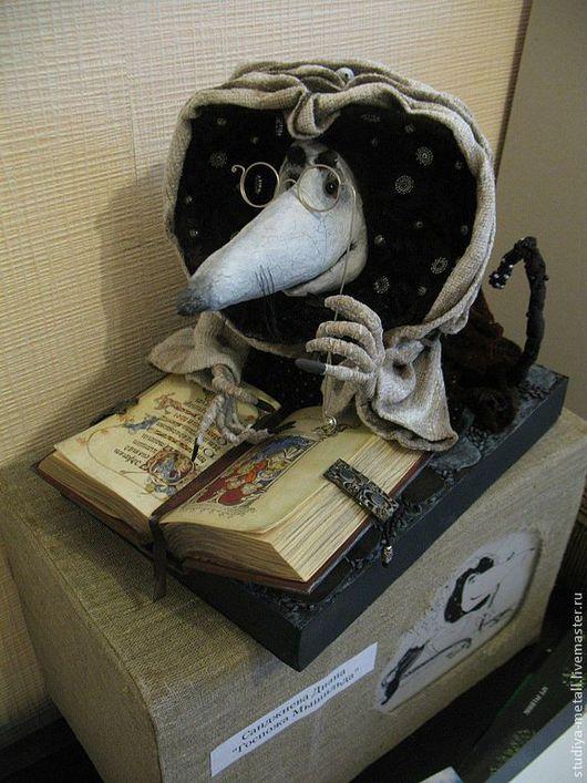 """Коллекционные куклы ручной работы. Ярмарка Мастеров - ручная работа. Купить интерьерная кукла """"Мышильда"""". Handmade. Авторская кукла"""