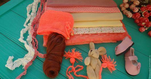 """Куклы и игрушки ручной работы. Ярмарка Мастеров - ручная работа. Купить Набор для самостоятельного создания  куклы """"Коралловый остров - 1"""". Handmade."""