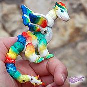 Мягкие игрушки ручной работы. Ярмарка Мастеров - ручная работа Дракон Колибри. Handmade.