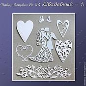 Материалы для творчества handmade. Livemaster - original item set logging no. 54 wedding -1. Handmade.