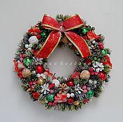 Цветы и флористика handmade. Livemaster - original item Christmas Wreath. Wreath New year. Winter wreath.The New Year Gift.. Handmade.