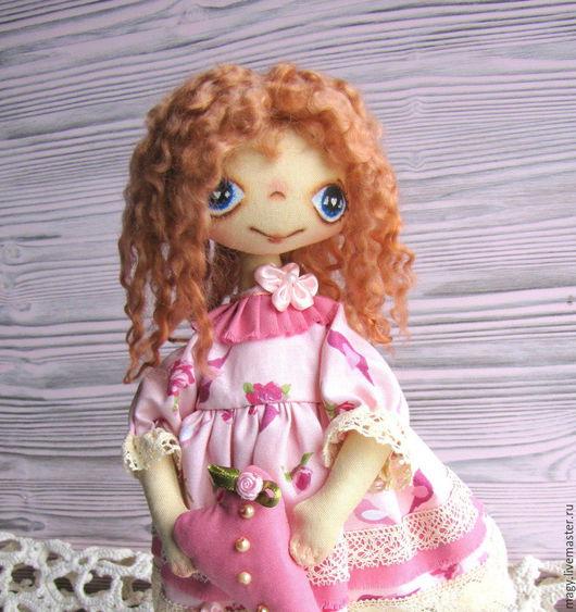 Коллекционные куклы ручной работы. Ярмарка Мастеров - ручная работа. Купить Текстильная кукла - Лекси. Handmade. Кукла ручной работы