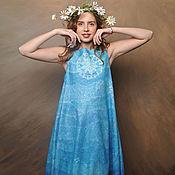 Одежда ручной работы. Ярмарка Мастеров - ручная работа Войлочное платье Вешние воды. Handmade.