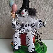 Куклы и игрушки handmade. Livemaster - original item PIERROT art doll art doll collectible doll. Handmade.