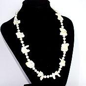 Украшения handmade. Livemaster - original item Necklace natural Baroque pearls. Handmade.