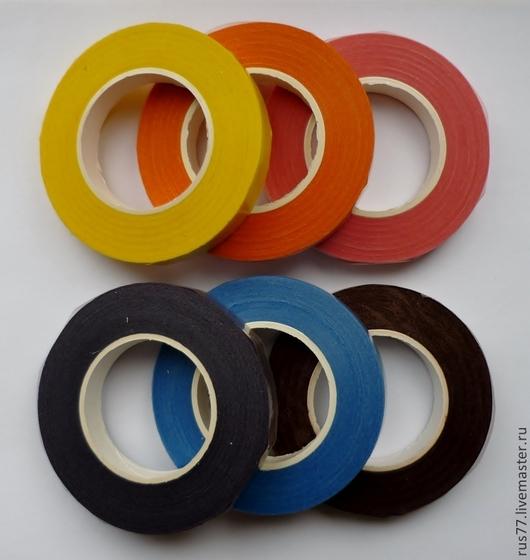 Желтый, оранжевый, розовый, фиолетовый, голубой, коричневый