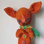 Куклы и игрушки ручной работы. Ярмарка Мастеров - ручная работа Мотя тойтерьер. Handmade.