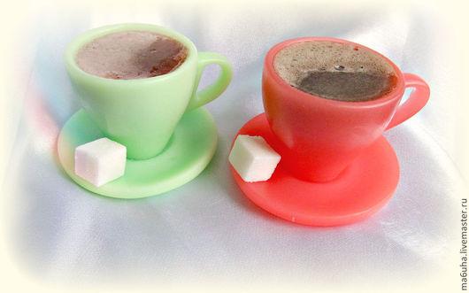 Мыло ручной работы. Ярмарка Мастеров - ручная работа. Купить Мыло Чашка с кофе. Handmade. Мыло, мыльная чашка, кофе