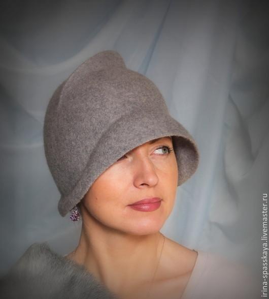 """Шляпы ручной работы. Ярмарка Мастеров - ручная работа. Купить Клош """"Сон голубого олененка"""" из коллекции """"Прошлые жизни"""". Handmade."""