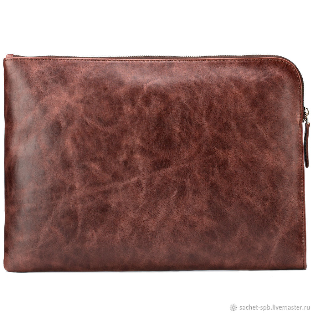 Folder for documents, 'Ben' (antique brown), Classic Bag, St. Petersburg,  Фото №1
