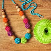 """Одежда ручной работы. Ярмарка Мастеров - ручная работа Слингобусы """"Яркие бусинки - 5"""" - радуга. Handmade."""