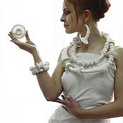 """Jewelry Sets handmade. Livemaster - original item Set """"Exo"""". Handmade."""