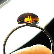 Rings handmade. Livemaster - original item Amber. Ring