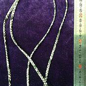 """Шнуры ручной работы. Ярмарка Мастеров - ручная работа Шнур """"Змея"""" из искусственной кожи. Handmade."""