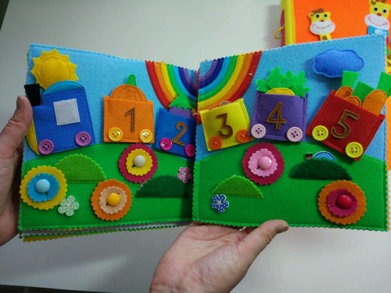 Детские книжки из фетра своими руками фото 52