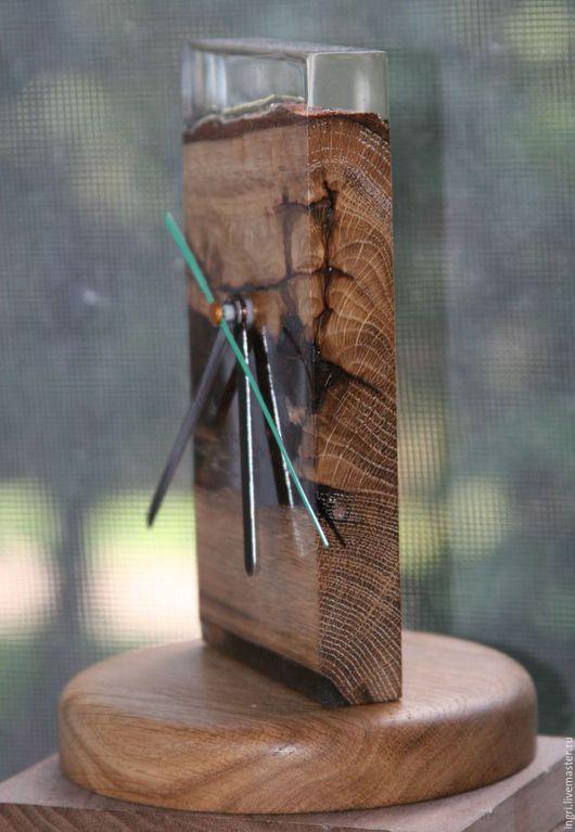 Часы для дома ручной работы. Ярмарка Мастеров - ручная работа. Купить Оригинальные авторские часы.. Handmade. Авторские часы, Дуб