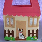 """Куклы и игрушки ручной работы. Ярмарка Мастеров - ручная работа Книжка """"Кукольный домик"""".. Handmade."""