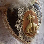 Pendants handmade. Livemaster - original item Heart pendant