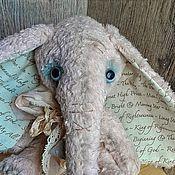 """Куклы и игрушки ручной работы. Ярмарка Мастеров - ручная работа Тедди слоник """" Воспоминания о детстве"""". Handmade."""