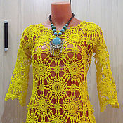"""Одежда ручной работы. Ярмарка Мастеров - ручная работа туника-платье """"Одуванчик"""". Handmade."""