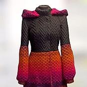 "Coats handmade. Livemaster - original item Зимнее пальто "" Зимняя радуга!"". Handmade."