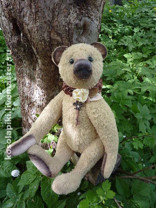 Мишки Тедди ручной работы. Ярмарка Мастеров - ручная работа. Купить Медведь ФИДЕЛЬ. Handmade. Мишки тедди, вискоза антик