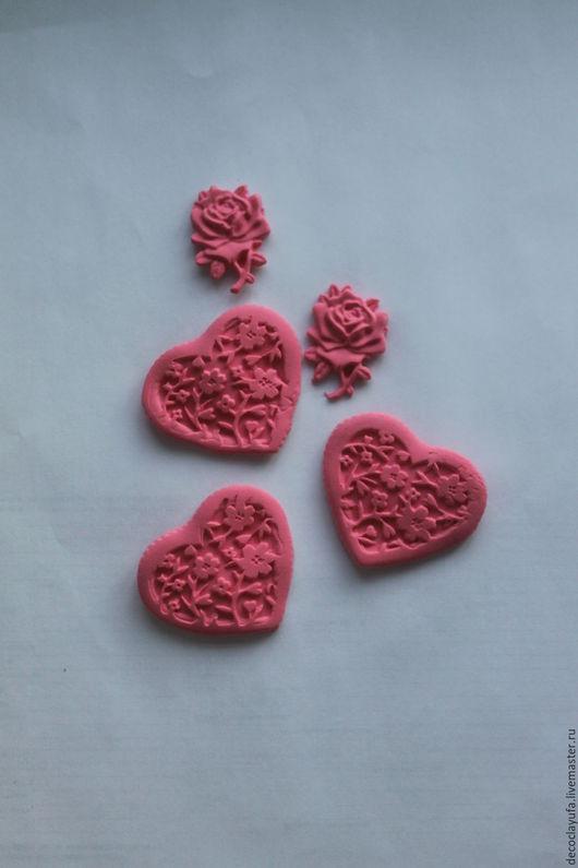 Открытки и скрапбукинг ручной работы. Ярмарка Мастеров - ручная работа. Купить Красно-розовый краситель для самоотвердевающей глины. Handmade. Коралловый
