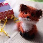 Куклы и игрушки ручной работы. Ярмарка Мастеров - ручная работа Лисенок Рыжик. Handmade.