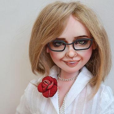 Куклы и игрушки ручной работы. Ярмарка Мастеров - ручная работа Кукла с портретным сходством. Кукла по фотографии. Handmade.