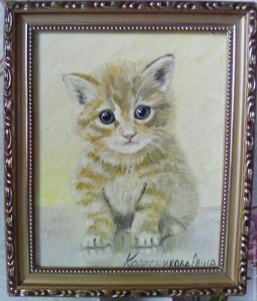 Животные ручной работы. Ярмарка Мастеров - ручная работа. Купить Милый Котик. Handmade. Комбинированный, милый котик, котенок, рыжий