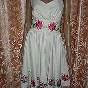 """Одежда ручной работы. Ярмарка Мастеров - ручная работа платье """" красотка"""". Handmade."""