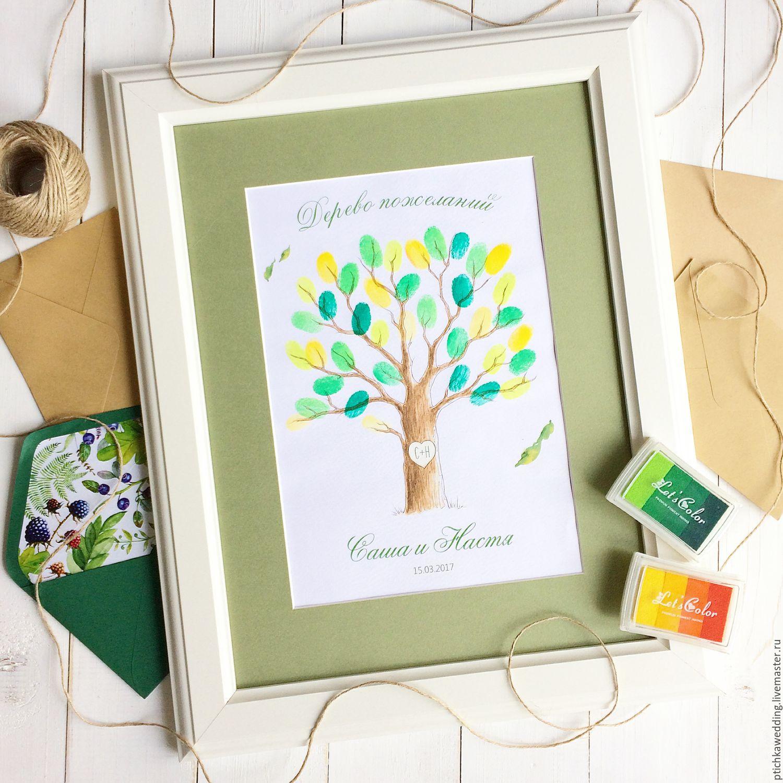 Дерево поздравлений на свадьбу 66