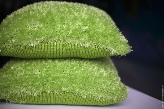 Декоративные подушки, диванные подушки, подушки на заказ, подушки для дивана, купить подушку, вязаные подушки, вязаные подушки спицами, вязаные наволочки на подушки, подушки