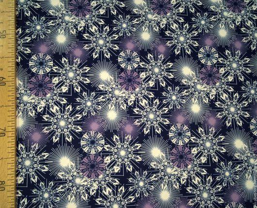 Ткань курточная 240Т DOBBY TRONGEE Мембрана Рисунок `Снежинки`