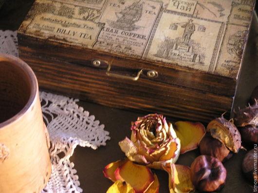 этот короб продан, НО -  сделала `реплику` - книга `Русский чай` (см. фото 4, 5, 6 ) - продан !