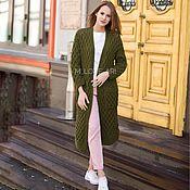 Одежда handmade. Livemaster - original item Vyazannyj de la chaqueta de la