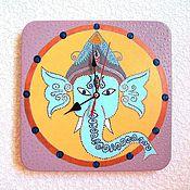 Для дома и интерьера handmade. Livemaster - original item Wall clock Elephant India handmade watches. Handmade.