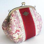 Сумки и аксессуары handmade. Livemaster - original item Large cosmetic bag on the farm