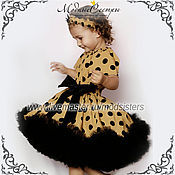 Работы для детей, handmade. Livemaster - original item Baby dress Beige Art.296. Handmade.