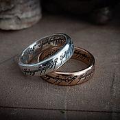Украшения handmade. Livemaster - original item The One Ring. A single ring. Lord of the Rings. bronze silver.. Handmade.