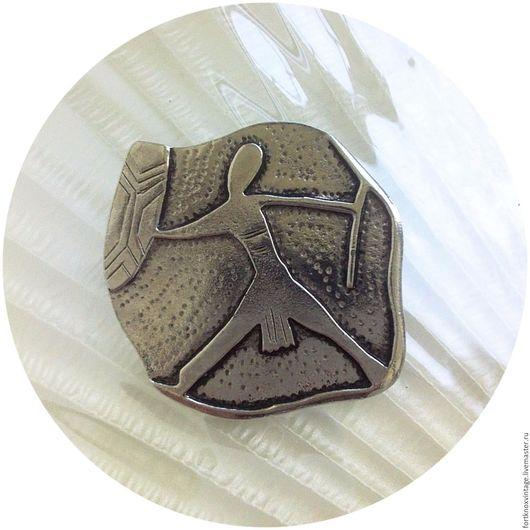 Винтажные украшения. Ярмарка Мастеров - ручная работа. Купить 1940-е годы MOOMBA Винтажная брошь Мумба / США. Handmade.