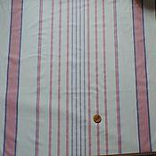 Материалы для творчества ручной работы. Ярмарка Мастеров - ручная работа ткань лен хлопок простынный 220см. Handmade.