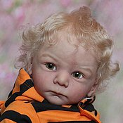 Куклы и игрушки ручной работы. Ярмарка Мастеров - ручная работа Митька.Кукла реборн молд Матис. Handmade.